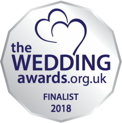 Finalist in the Wedding awards 2018